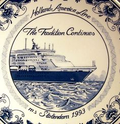Buque de crucero Statendam 1993, Holanda