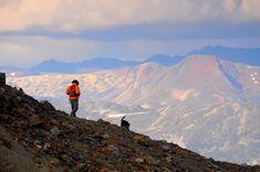 Photo by Tim Schumm. Painting in Bella Coola. Wilderness, Alaska, Journey, Adventure, Mountains, Painting, Travel, Art, Art Background