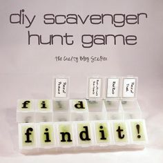 We recently had a camping family reunion and I was put in charge of a game for the kids. Well, you know me. There was no way duck duck goose was going to cut it, so I came up with this fun Scavenger Hunt Game that the kids had a ball with and [...]