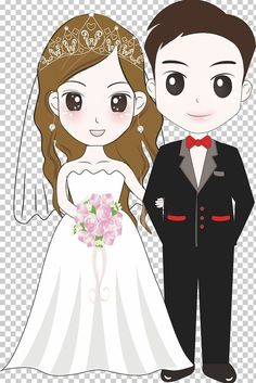This PNG image was uploaded on January am by user: hduane and is about Balloon Cartoon, Beauty, Black Hair, Bride, Cartoon Character. Bride And Groom Cartoon, Wedding Couple Cartoon, Love Cartoon Couple, Paar Illustration, Wedding Illustration, Couple Illustration, Couples Images, Cute Couples, Clipart