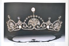 Lotus Flower Tiara, worn by Queen Elizabeth, the Queen Mother