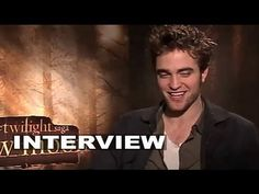 The Twilight Saga: New Moon: Robert Pattinson Exclusive Interview