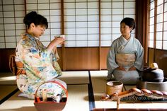 Kyoto Tea Ceremony -- Some great recommendations for a more relaxed tea ceremony for the first timer.