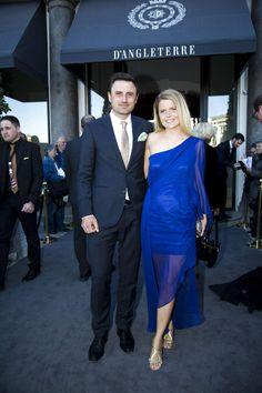 Heidi Frederikke Rasmussen med sin mand Anders Sigdal.