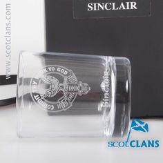 Sinclair Clan Crest Votive. Free worldwide shipping available