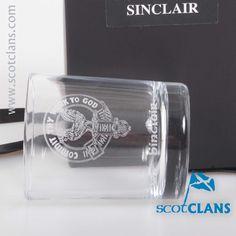Sinclair Clan Crest Votive.