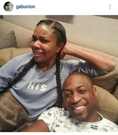 Meanwhile #GabrielleUnion and #DwayneWade are unbothered!
