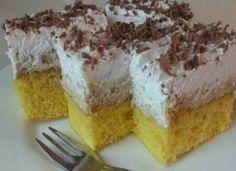 Isteni szelet, nem hiába kapta ezt a nevet! Ha megkóstolod, te is megtudod miért is hívják így! Sweet Desserts, Sweet Recipes, Poppy Cake, Hungarian Recipes, Cake Cookies, Amazing Cakes, Cheesecake, Food And Drink, Cooking Recipes