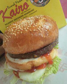 Burger Bigmac Kairo 😍 cuma 15rb perut kenyang