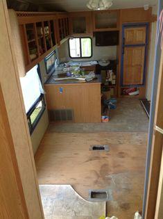 We think this is a DIY RV Camper Hack Design Idea: Living, Bedroom, Kitchen And Bathroom. When Activating The RV Professionals Do It In situations where there are a number of stains, people decide …