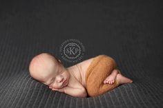 Newborn Photography Fabric Backdrop - Fredrick Knit Backdrop in Gray - 2 Yards. $40.00, via Etsy.