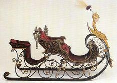 Inspiration for Miniatures - Swiss sleigh Vintage Sled, Vintage Christmas, Horse Drawn Wagon, Dashing Through The Snow, Luge, Horse Carriage, Santa Sleigh, Christmas Photos, Oeuvre D'art