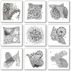 zentangle patterns | Zentangle: Pattern-Drawing as Meditation | Brain Pickings