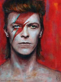 David Bowie Starman, David Bowie Tribute, David Bowie Art, Angela Bowie, David Jones, Gorillaz, Rock Y Metal, Rock Rock, Hard Rock