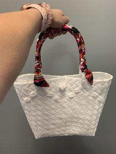 Handwoven from recyclable plastic Regions Of The Philippines, National Flag, Market Bag, Innovation Design, Straw Bag, Hand Weaving, Recycling, Plastic