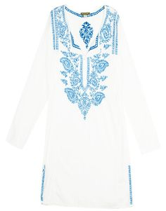d4b58174 Subtle Luxury Collection ♡ · Breezy white embroidered shirts Indian Suits,  Embroidered Shirts, Kaftan, Boyfriend Shirt, Dress