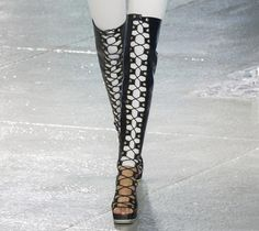 15 Unique Fashion Accessories from NYFW Spring 2015: Rodarte Boots #accessories #shoes #boots
