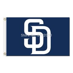 S D Design San Diego Padres Flag World Series Champions Baseball Cub Fans Team Flags Banner 90X150CM Banners