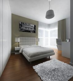 RoomReveal - Modern bedroom in a private apartment, Warsaw by Altro Studio Barbara Kamińska
