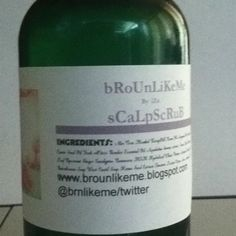 Scalp scrub for scalp issues reformulated for a extra moisturizing experience  www.brnlikeme.blogspot.com