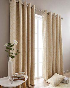 Cornella Blackout Eyelet Curtains