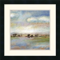 "Amanti Art Quiet Journey by T.J. Bridge Framed Fine Art Print - 18"" x 18"" - DSW114889"