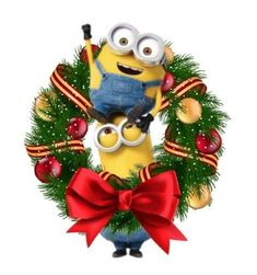 Funny Minion Pictures, Merry Christmas, Christmas Ornaments, Despicable Me, Minions, Animation, Holiday Decor, Cute, Merry Little Christmas