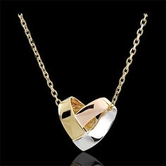 Halskette Origami Herz in Weiß-, Gelb- und Roségold Origami heart necklace in 375 white, yellow and rose gold: Edenly jewelry Diamond Jewelry, Silver Jewelry, Jewelry Necklaces, 375 Gold, Fashion Jewelry, Women Jewelry, Jewelry Quotes, Heart Of Gold, Gold Pendant