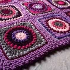 Textured Circles ~ free pattern
