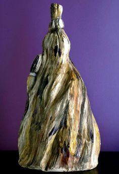 Susie Prunes - Xapanã Escultura em Cerâmica