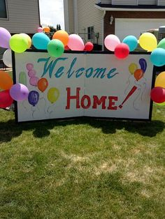 Welcome home sign for military airport trendy ideas Welcome Home Surprise, Welcome Home Cakes, Welcome Home Parties, Welcome To The Party, Welcome Back Images, Welcome Back Home, Welcome Home Posters, Welcome Home Quotes, Welcome Home Signs For Military