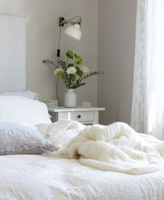 IKEA Ranarp Clamp Light in the Bedroom | Apartment Therapy