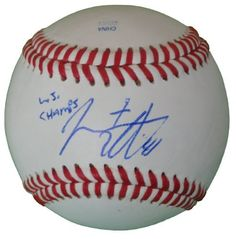 "San Francisco Giants Jeremy Affeldt Autographed ROLB Baseball Featuring ""WS Champs"" Inscription! Proof Photo by Southwestconnection-Memorabilia. $129.99. This is a Jeremy Affeldt autographed Rawlings official league baseball with ""WS Champs"" inscription! Jeremy signed the ball in blue ballpoint pen. Check out the photo of Jeremy signing for us. Proof photo is included for free with purchase. Please click on images to enlarge. 5"