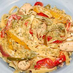 Recipe for chicken tequila pasta