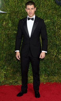 Nick Jonas <3 at the Tony Awards