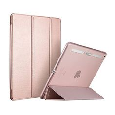 ESR iPad Air2 Custodia Cover Oro Rosa ($16) ❤ liked on Polyvore featuring accessories and tech accessories