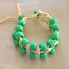 Another great do-it-yourself bracelet.