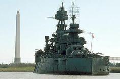 USS Texas and the San Jacinto Monument