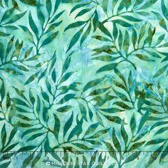 Artisan Batiks - Color Source 6 Leaflet Willow Yardage