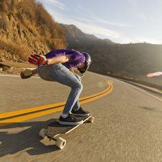 go a little faster - #longboarding