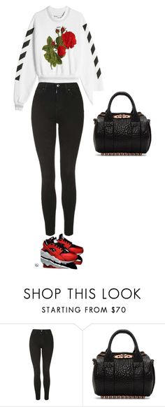 """""""2nd Tuesday"""" by pvzhang on Polyvore featuring Topshop and Alexander Wang"""
