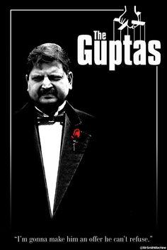 "WarrenK (@MrSmithMachine) | ""I'm gonna make him an offer he can't refuse"" #StateCaptureMovieTitles #GuptaGate"