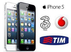 iPhone 5 tariffe operatori: TIM, Vodafone e Tre a confronto