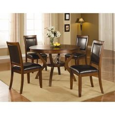 Nelms 5 Piece Table and Chair Set