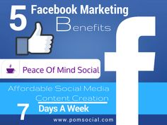 5 simple ways to make a large impact on Facebook. Facebook is where social media marketing began. It has a lot to offer specifically to small business owners to help you make a large impact online. Read more at: http://smallbiztrends.com/2016/07/effective-facebook-marketing-strategies.html Peace of Mind Social - Affordable social media content creation 7 days a week. #5SimpleBizWay #OnlinePresence #FacebookImpact #SmallBizOwners
