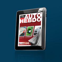 """Mise en page du mini-eBook Hebdomadaire """"AUTO HEBDO"""" - © vincent Manouvrier"""