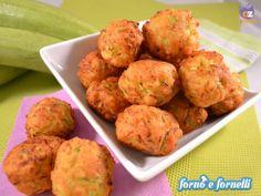 Polpette di zucchine fritte