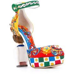 49e9b34091f3b Dolce   Gabbana Carretto Siciliano print pumps ( 4