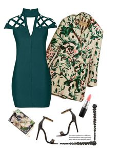 """Garden Inspiration'"" by dianefantasy ❤ liked on Polyvore featuring Burberry, Charlotte Russe, MAC Cosmetics, Rare London, Simone Rocha and Ted Baker"
