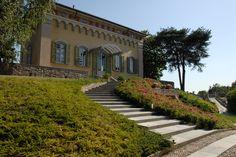 Villa di Delizia, ingresso lato nord.